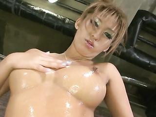 model busty asian milf