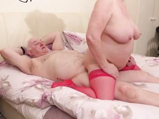 big tits stocking fucking
