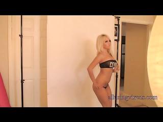 naughty slim blonde amateur