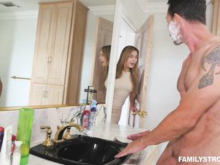 step dad shower