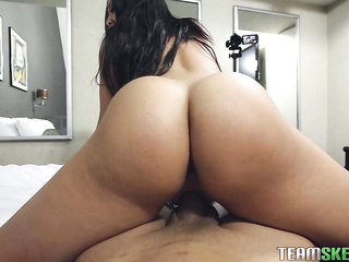 oiled big ass pov