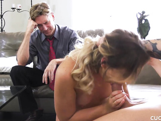 cuckold husband watches