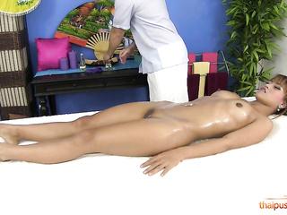 asian massage oiled