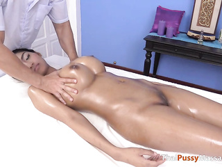 perfect asian tits massage