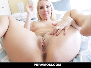 sexy blonde milf mom
