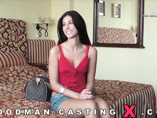 sexual amateur casting threesome